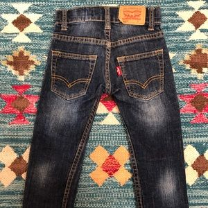 Unisex Levi's 511 jeans for toddlers, size 2